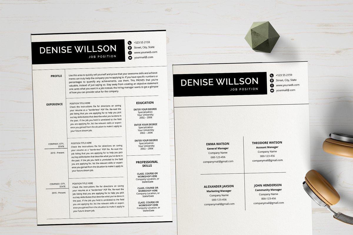 Simple CV Design