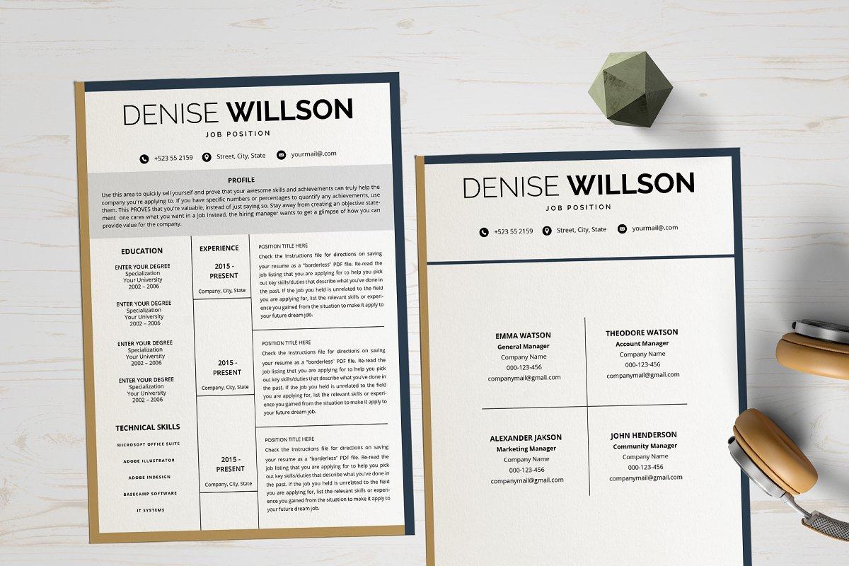 Resume/ CV Design