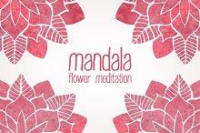 Mandala. FLower Meditation