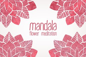 Mandala. FLower Meditation