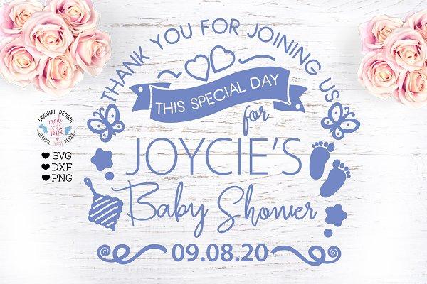 Baby Boy Birth Announcement Chart Pre Designed Illustrator Graphics Creative Market