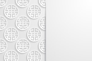 Set of Chinese backgrounds