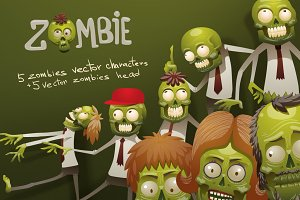 Zombies Bundle, vector