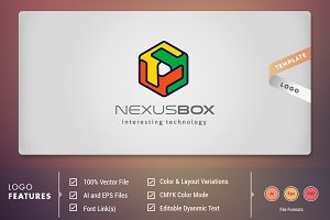 Nexus Box - Logo Template