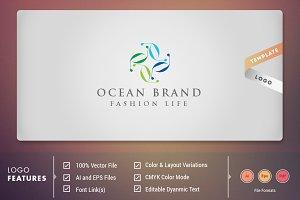 Ocean Brand - Logo Template
