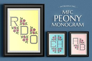 MFC Peony Monogram