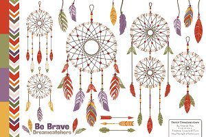 Autumn Dreamcatchers & Vectors