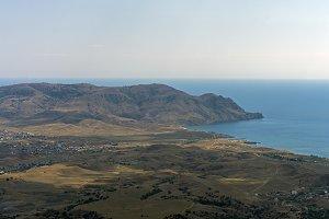 Cape Meganom. Crimea, September.