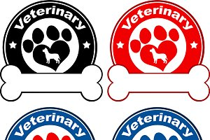 Paw Print Banners Collection- 7