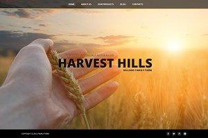 Harvest Hills - Joomla 3 Template