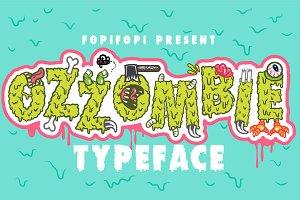 OZZOMBIE Typeface + Bonus