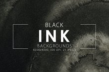 20% OFF Black Ink Backgrounds
