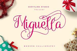 Miguella Script ( 35% OFF )