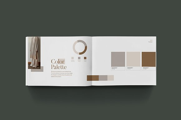 PS & CANVA Celeste Brand Guideline in Magazine Templates - product preview 8
