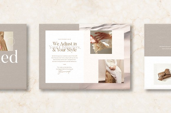 PS & CANVA Celeste Brand Guideline in Magazine Templates - product preview 9