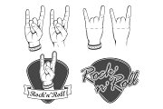 Rock'n'roll emblems