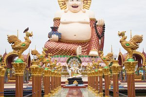 Big Buddha in temple