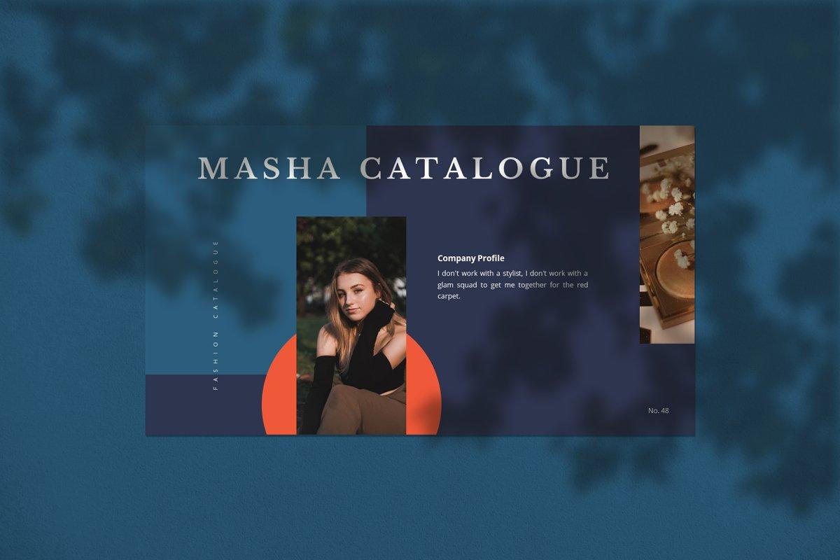 Masha Vibrant Google Slides Template