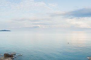 Panorama samui beach