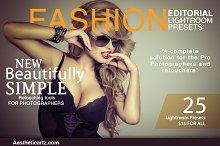 Fashion Editorial Lightroom Presets