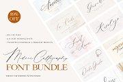 Modern Calligraphy Font Bundle
