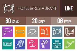 60 Hotel&Restaurant Line Multicolor