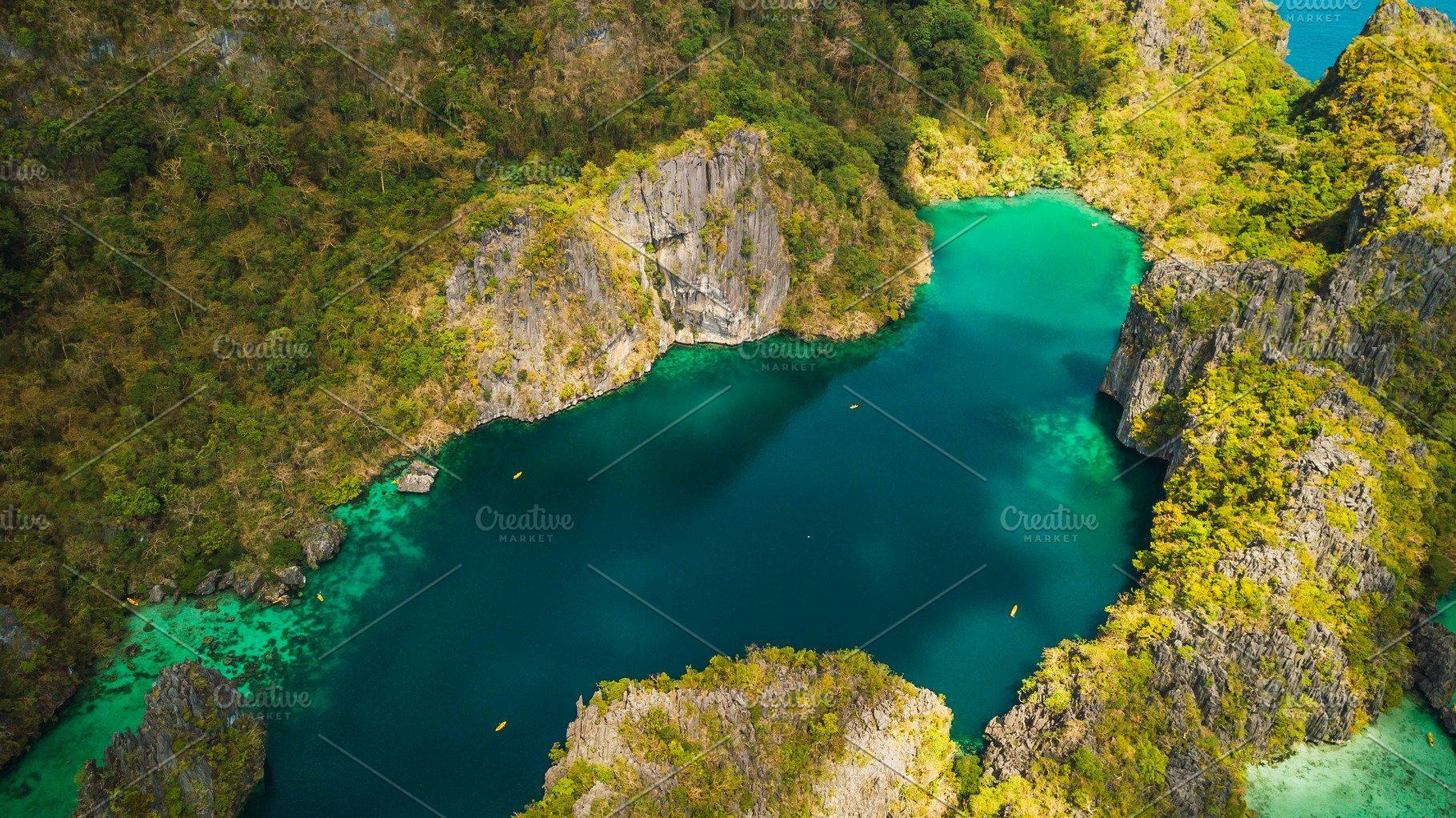 Big And Small Lagoon El Nido