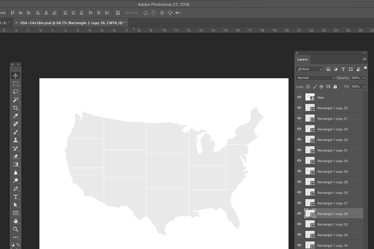 USA photo Collage Template
