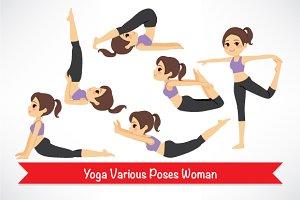 Yoga Poses Girl