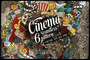 Cinema Seamless Patterns