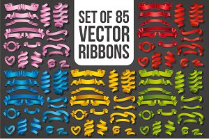 Big Ribbons Set