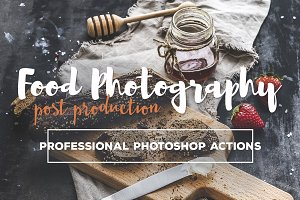 Food Photography Photoshop Actions