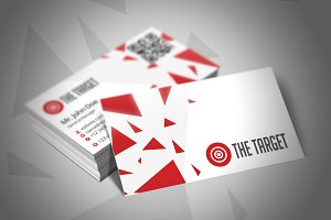 The Target Business Card