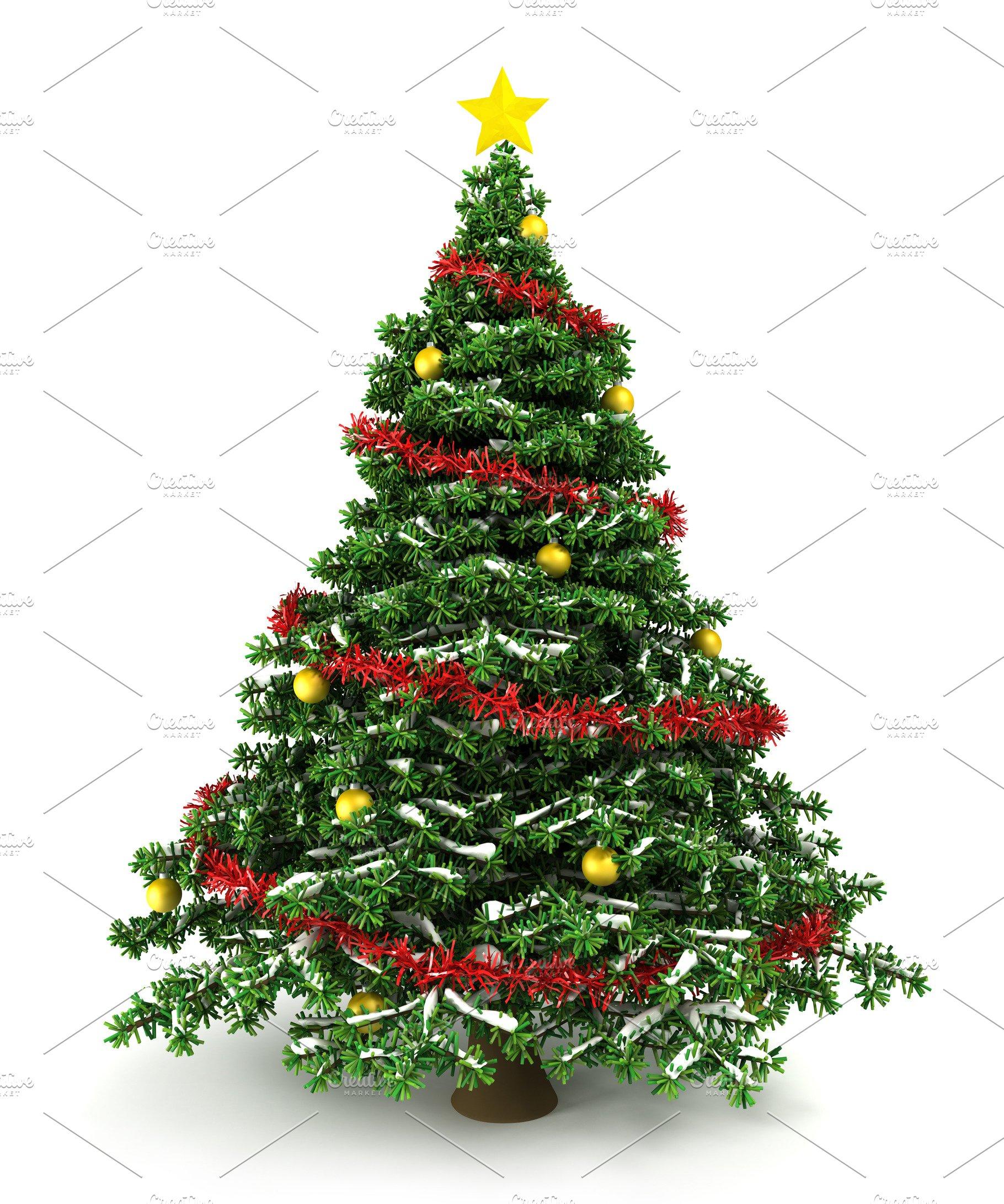 Illustration Christmas tree | High