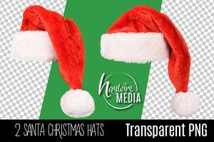 Digital PNG Christmas Santa Hat
