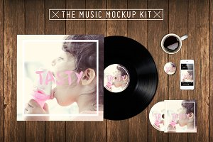 The Music Kit Mockup