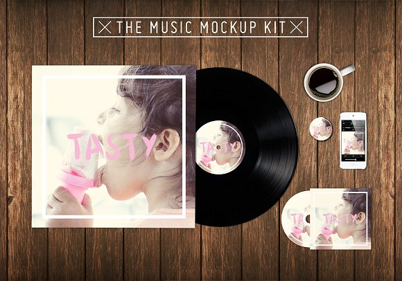 Free The Music Kit Mockup