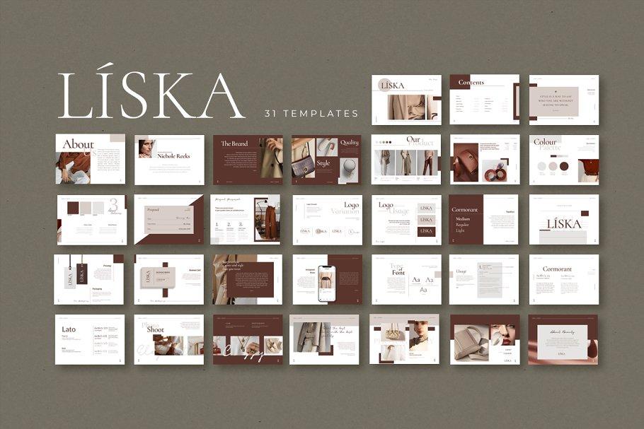 ID & CANVA Liska Brand Guideline