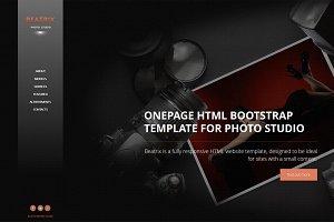 Beatrix - OnePage HTML Theme