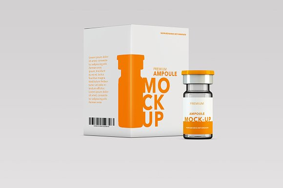 Download Health Ampoule - Pack Mock-up