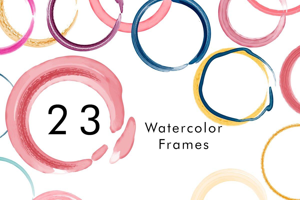 Watercolor Logo Kit