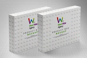 Package Product Box Mock-up