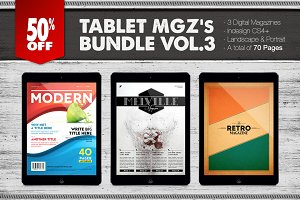 Tablet Magazines Bundle 3