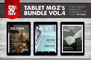 Tablet Magazines Bundle 4