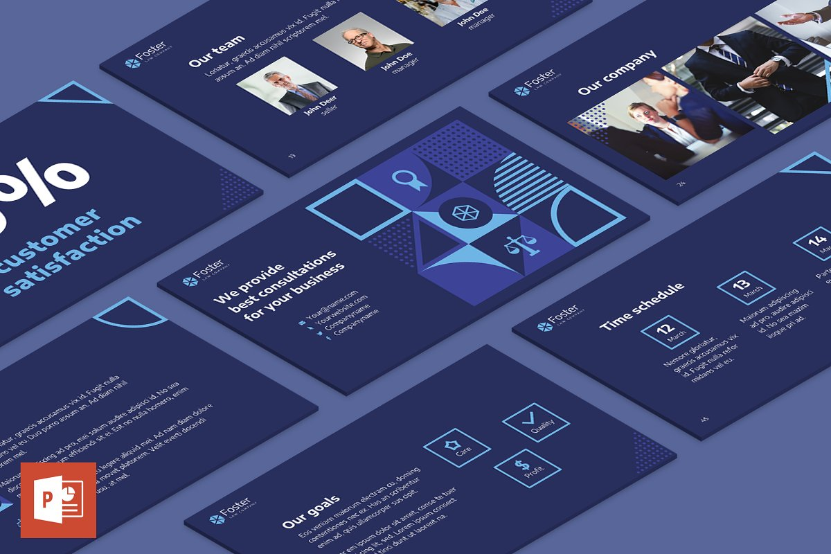 Law Company Powerpoint Presentation Powerpoint Templates