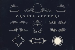 Vintage Ornate Vectors