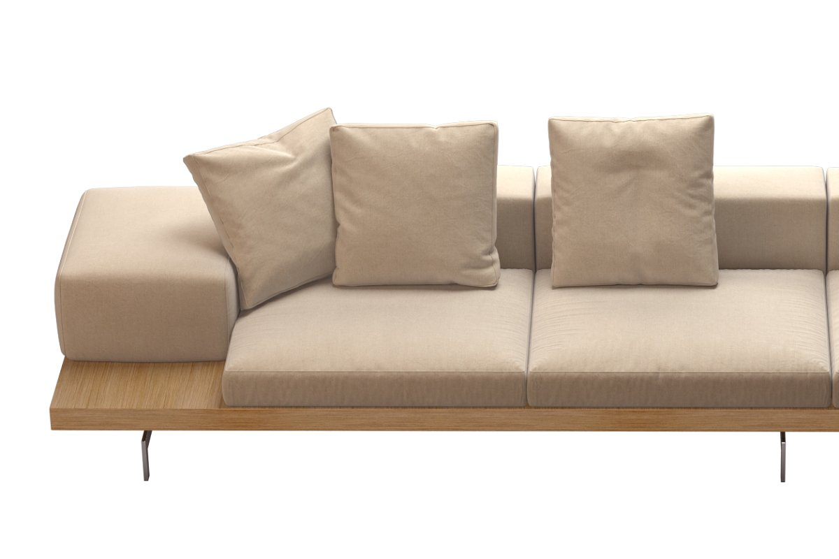 Dock Sofa by B&B Italia  File Format