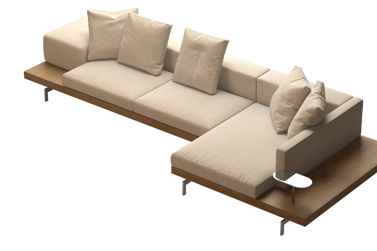 Dock Sofa by B&B Italia 370x150