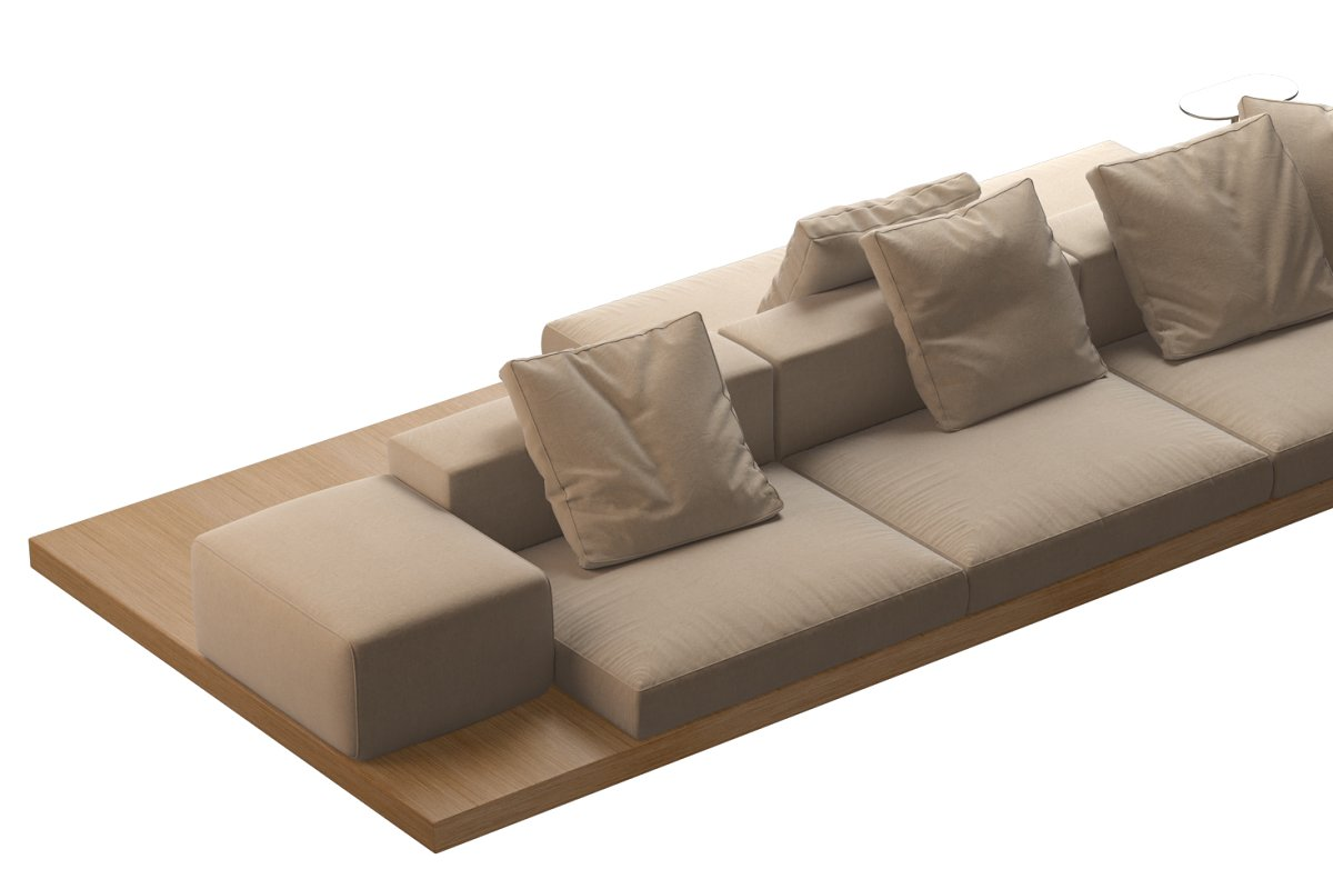 Dock Sofa by B&B Italia 370x160