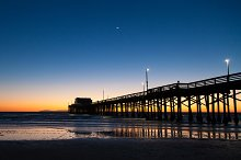 Balboa Pier - Late Sunset
